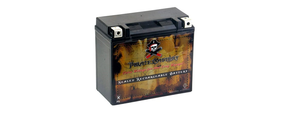 Pirate Battery Battery for Harley Davidson