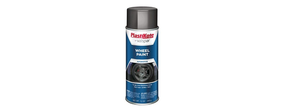 PlastiKote Charcoal Gray Wheel Paint