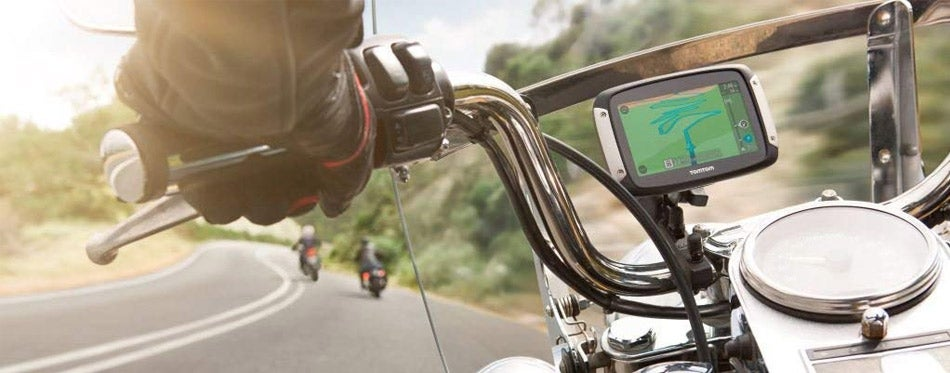 Portable Motorcyle GPS
