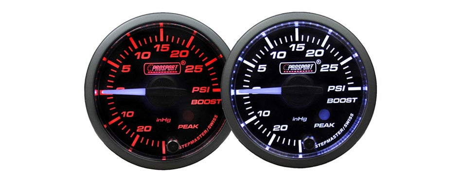Prosport Gauges Boost Gauge