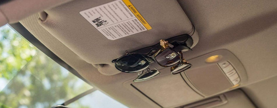 Superior Essentials Double Sunglass Holder for Cars