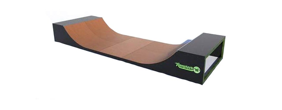 Ramptech 3' Tall Wide Outdoor Halfpipe