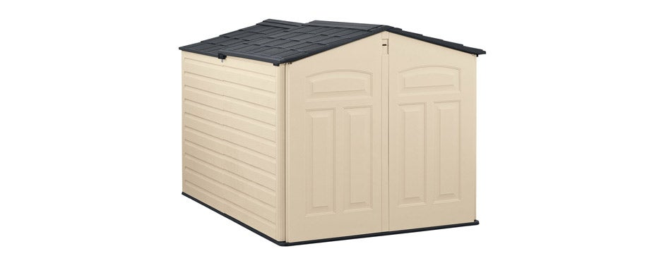 Rubbermaid Outdoor Bike Storage Shed