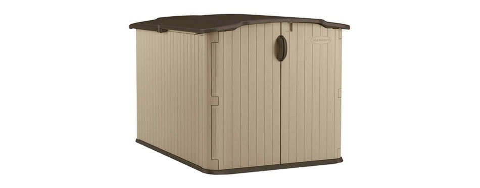 Suncast Outdoor Storage Shed for Bikes