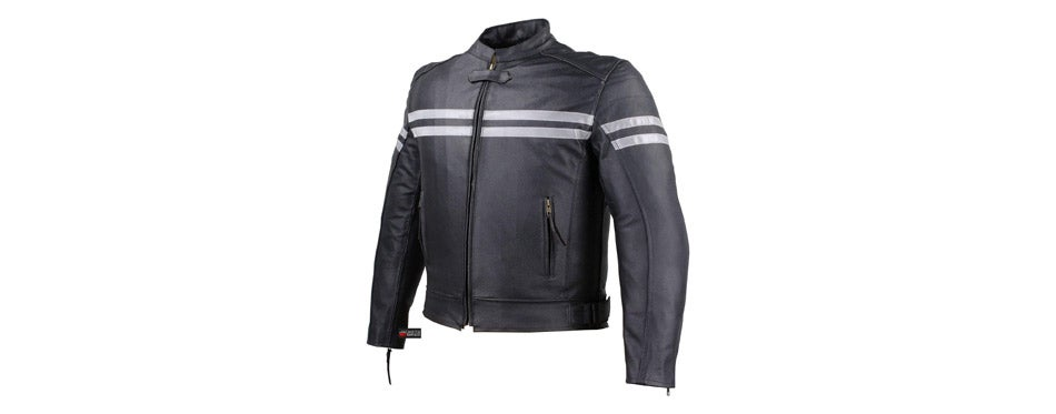 Track motorcycle leather jacket by Jackets 4 Bikes