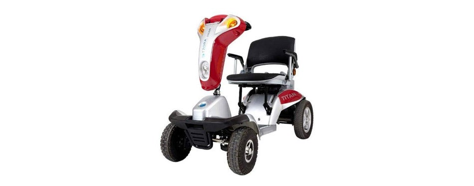 Tzora Hummer XL Folding Electric Mobility Scooter