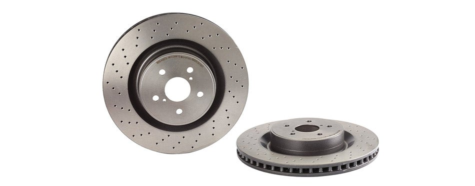Brembo UV Coated Front Disc Brake Rotor