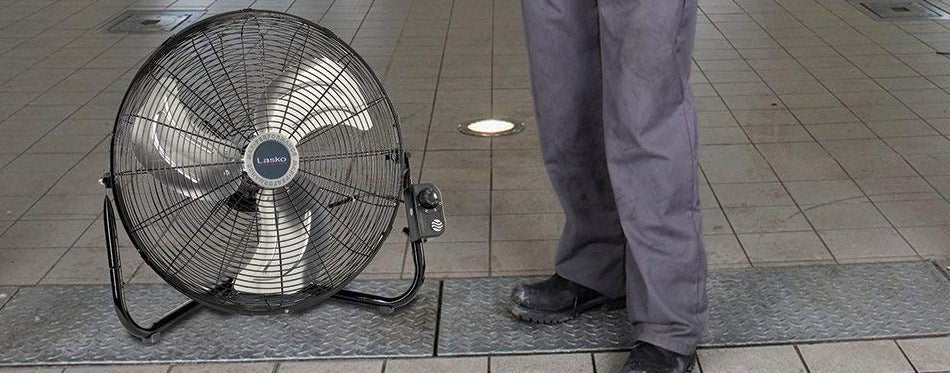 Easily Converts From a Floor Wall Fan