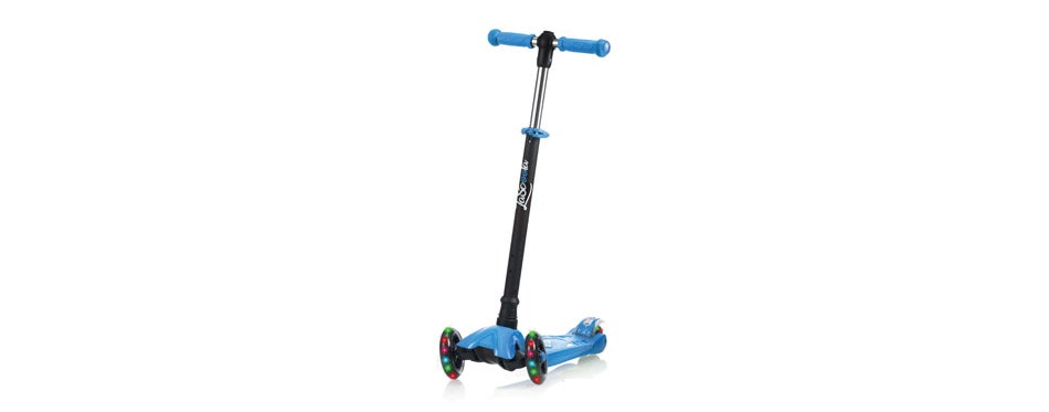 Lascoota Kick Scooter with Removable for Toddlers