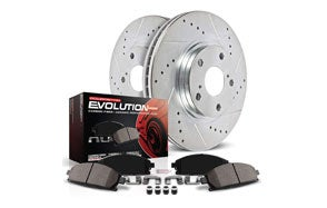 Power Stop Front Brake Rotors Kit