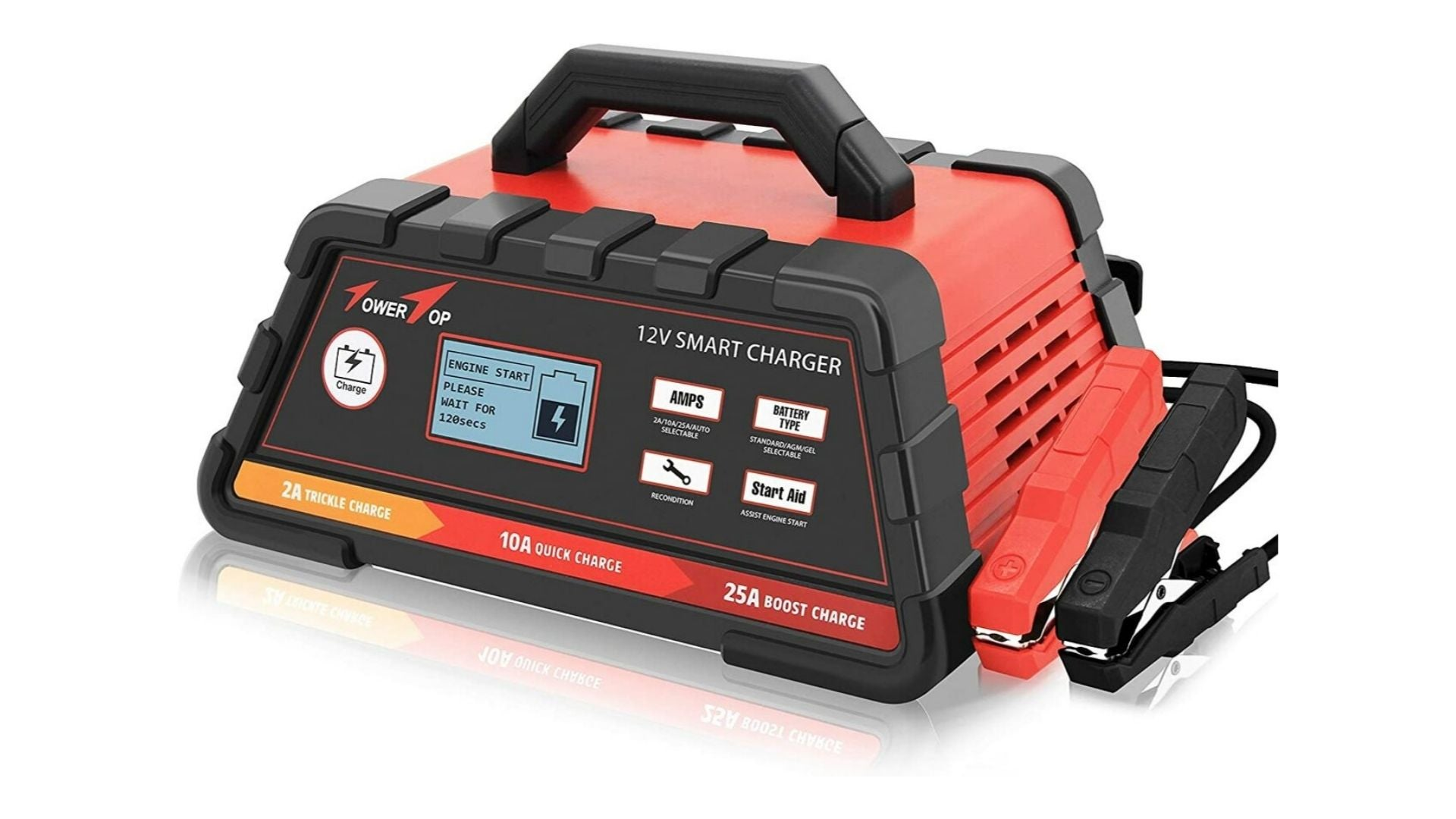 2/10/25A 12V Smart Battery Charger/Maintainer
