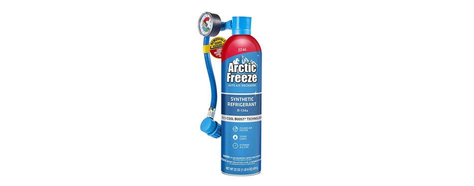 Arctic Freeze Ultra Synthetic Automotive Refrigerant