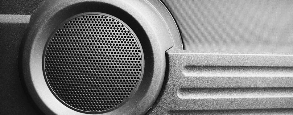 Car modern speakers