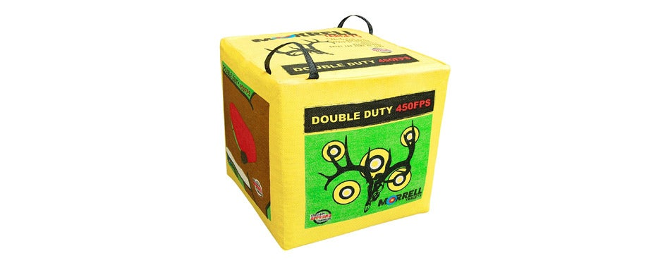 Morrell Double Field Point Bag Archery Target
