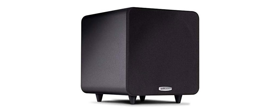 Polk Audio Compact Powered 8 Inch Subwoofer