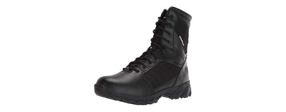 Smith & Wesson Tactical Size Zip Boots