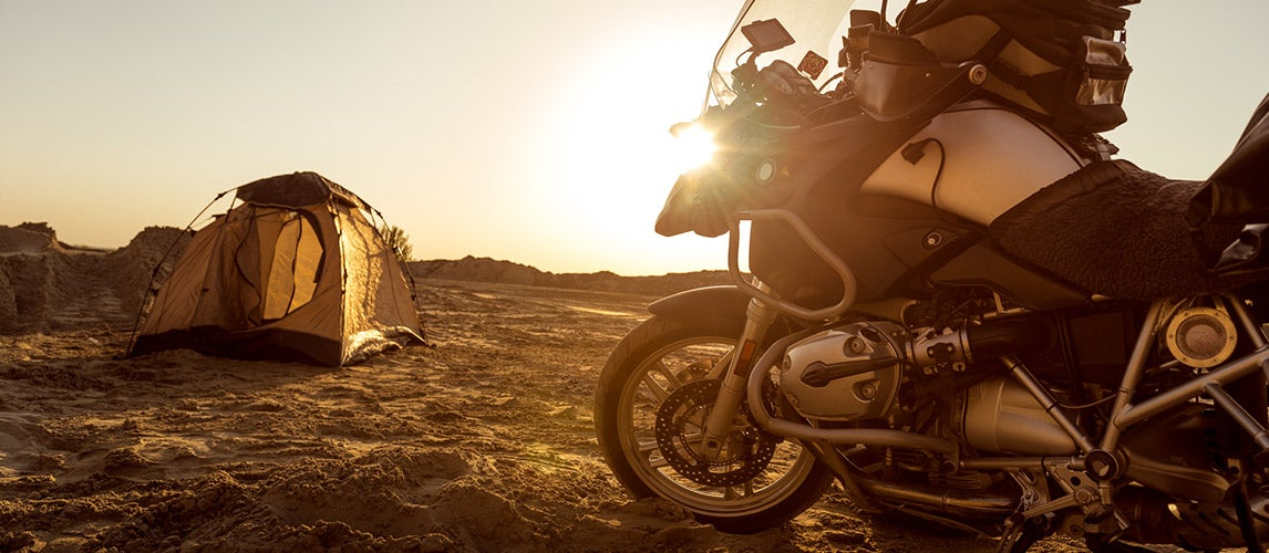 Best Motorcycle Camping Gear