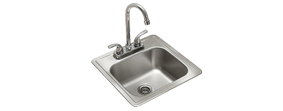 KINDRED Stainless Steel All-in-One Utility Sink