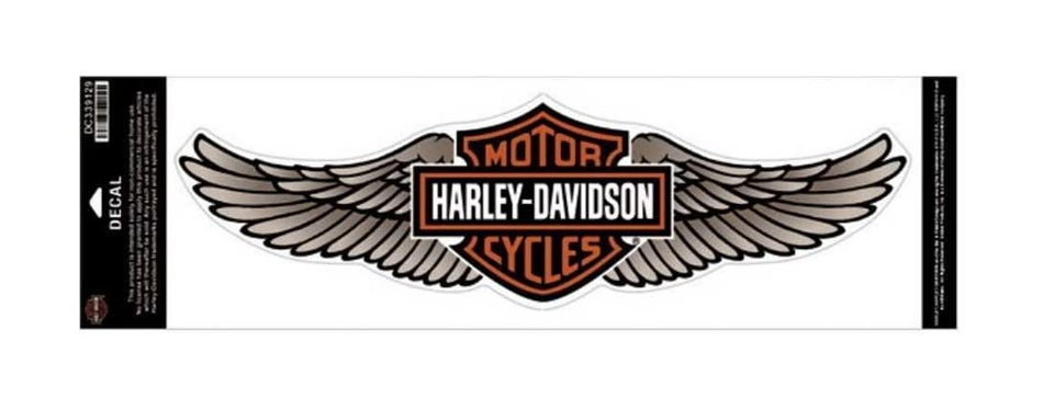 Harley-Davidson Straight Wing Decal