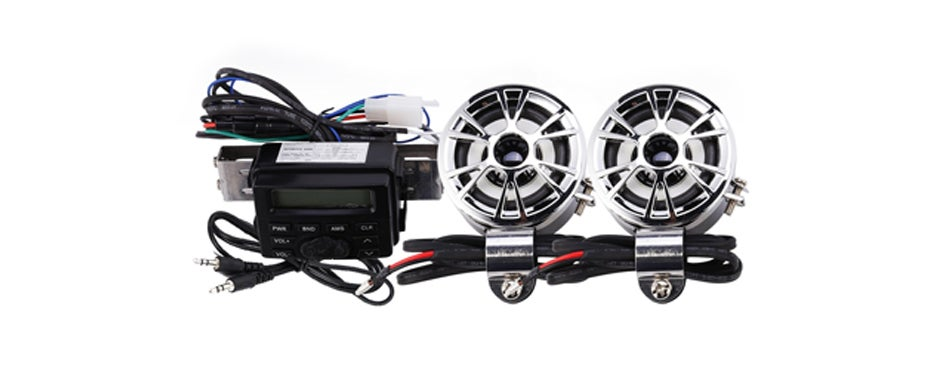 INNOGLOW Motorcycle Speakers with Radio Amplifier System
