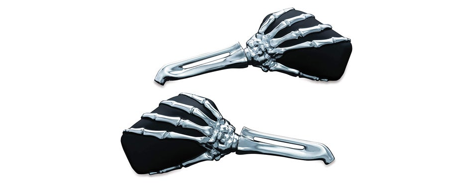 Kuryakyn Skeleton Hand Mirrors
