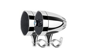LEXIN LX-S3 Motorcycle Bluetooth Speakers with FM Radio Antenna