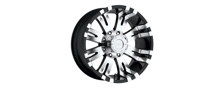 Pro Comp Alloys Series 01 Gloss Black Wheel with Machined Face