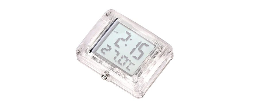 AOZBZ Motorcycle Thermometer and Clock