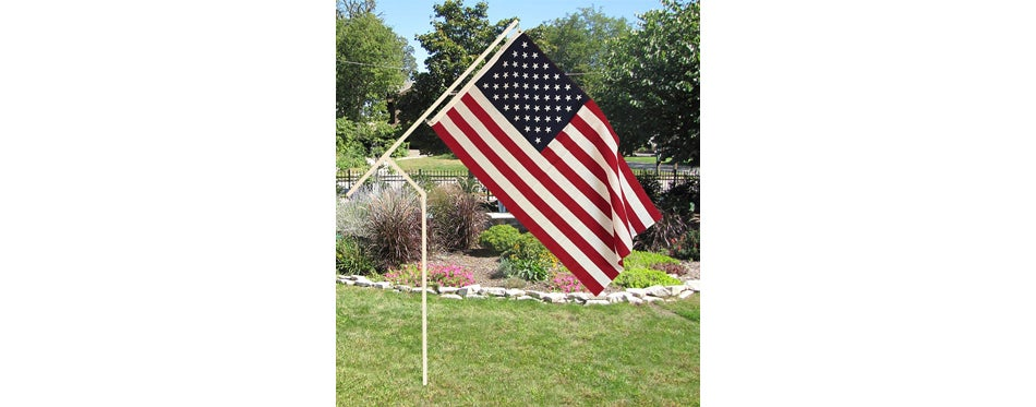 Martin's Flag Co. 'Made in the USA' PVC Flagpole