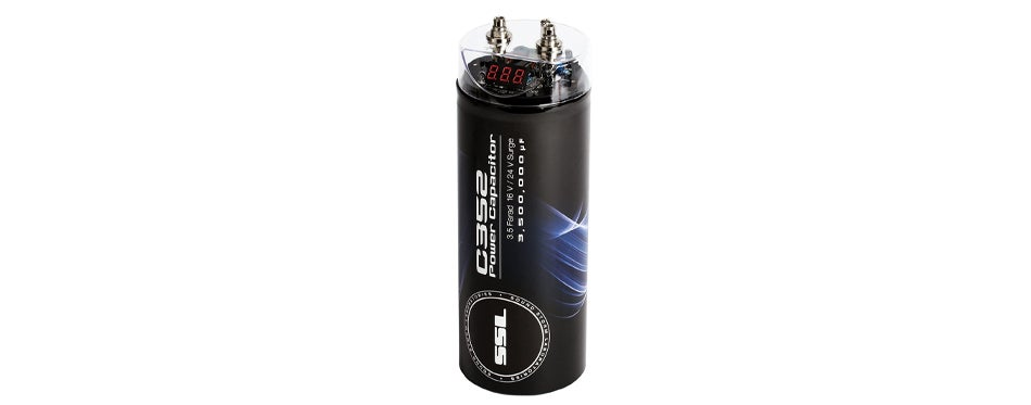 Sound Storm C352 3.5 Farad Car Capacitor