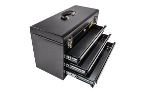 JEGS 3-Drawer Professional Tool Box
