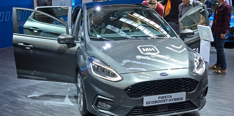 New Ford Fiesta at expo