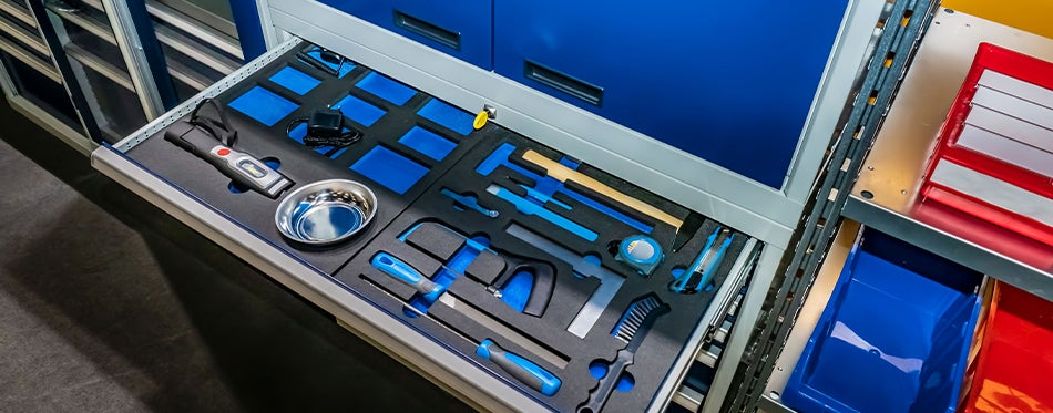 Truck bed tools storage drawer