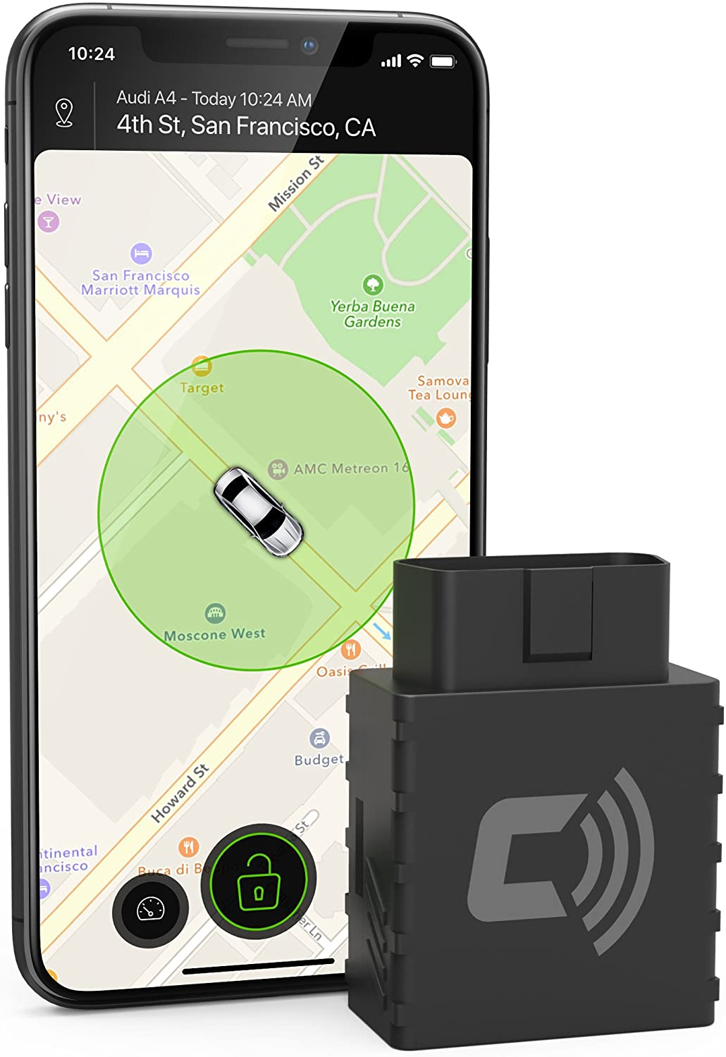 CarLock Real-Time 3G Car Tracker & Alert System