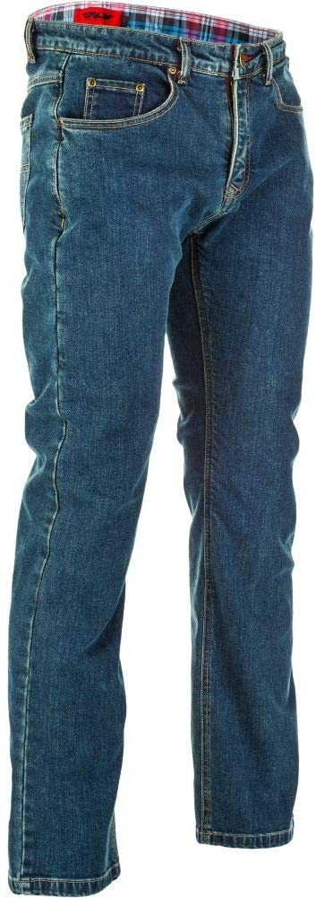 Fly Racing Resistance Heavy Weight Men's Motorcycle Jeans