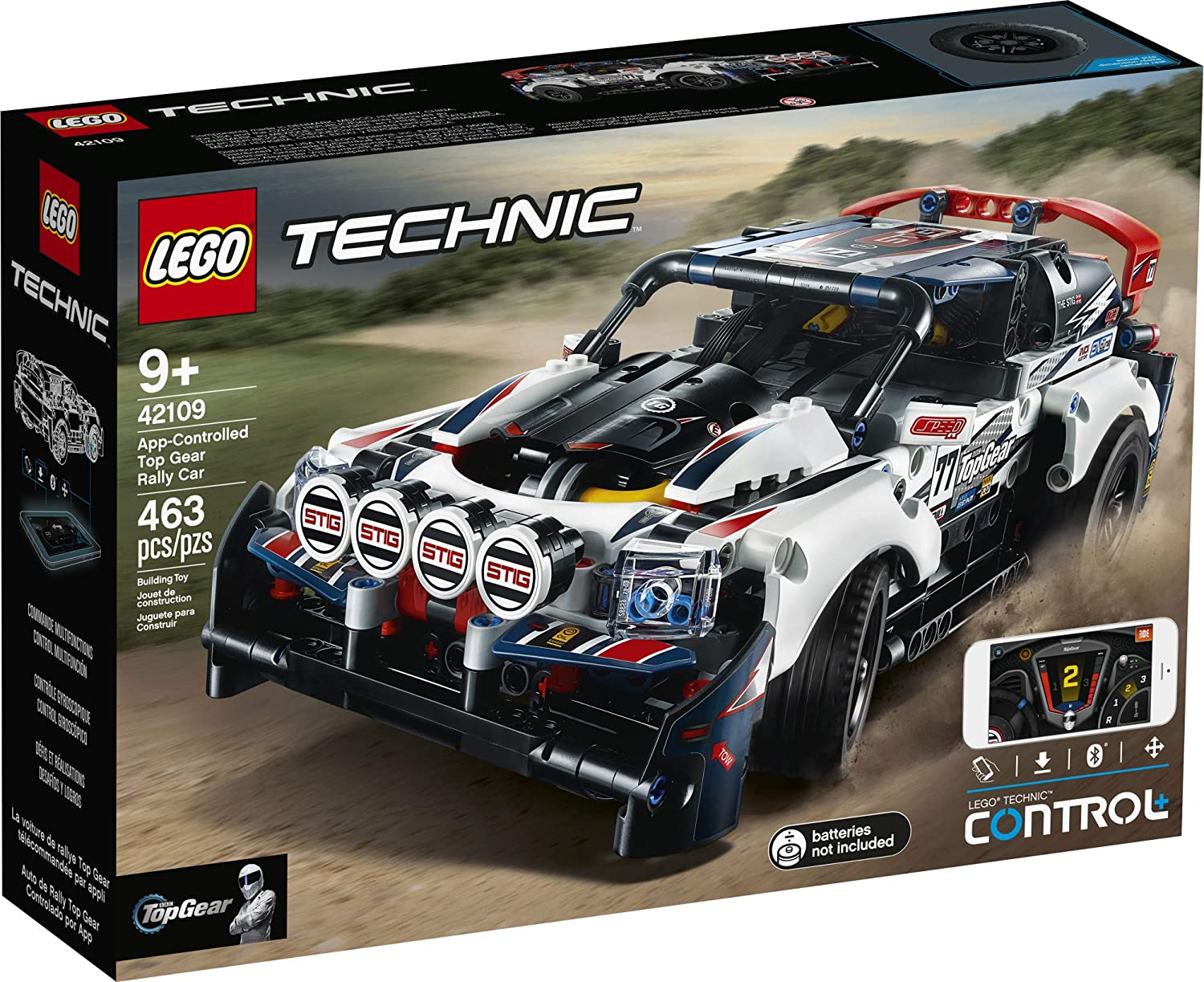 LEGO Technic App-Controlled Top Gear Rally Car