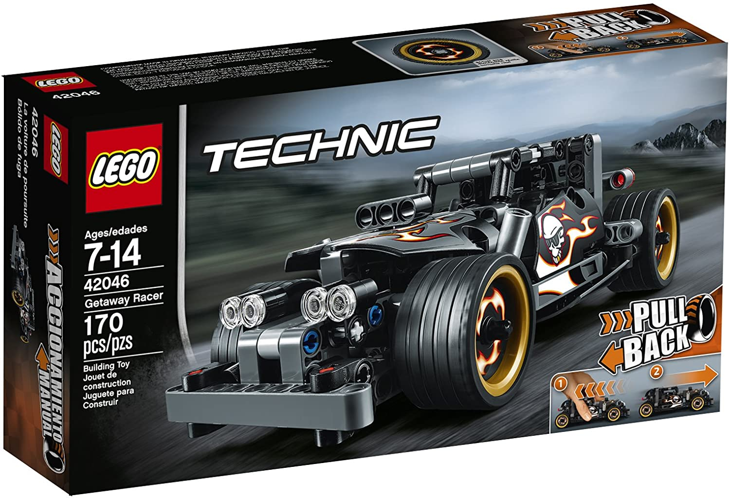Lego Technic Getaway Racer Building Kit
