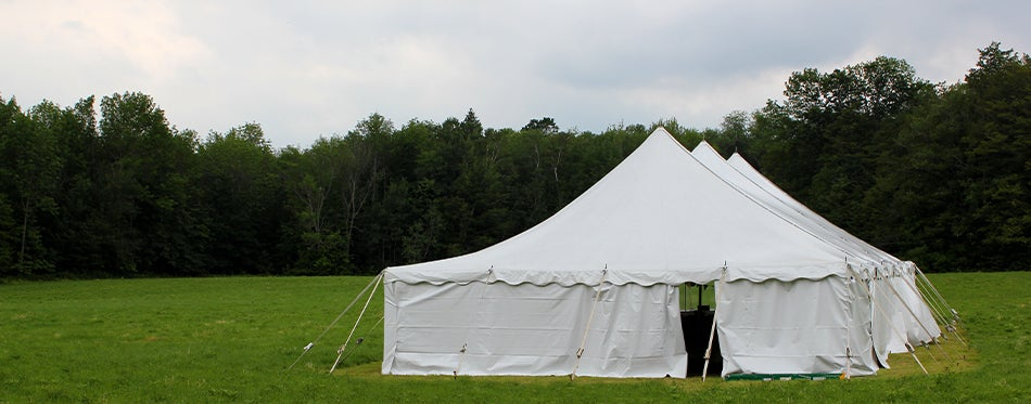 Large Outdoor Pop-up Canopies
