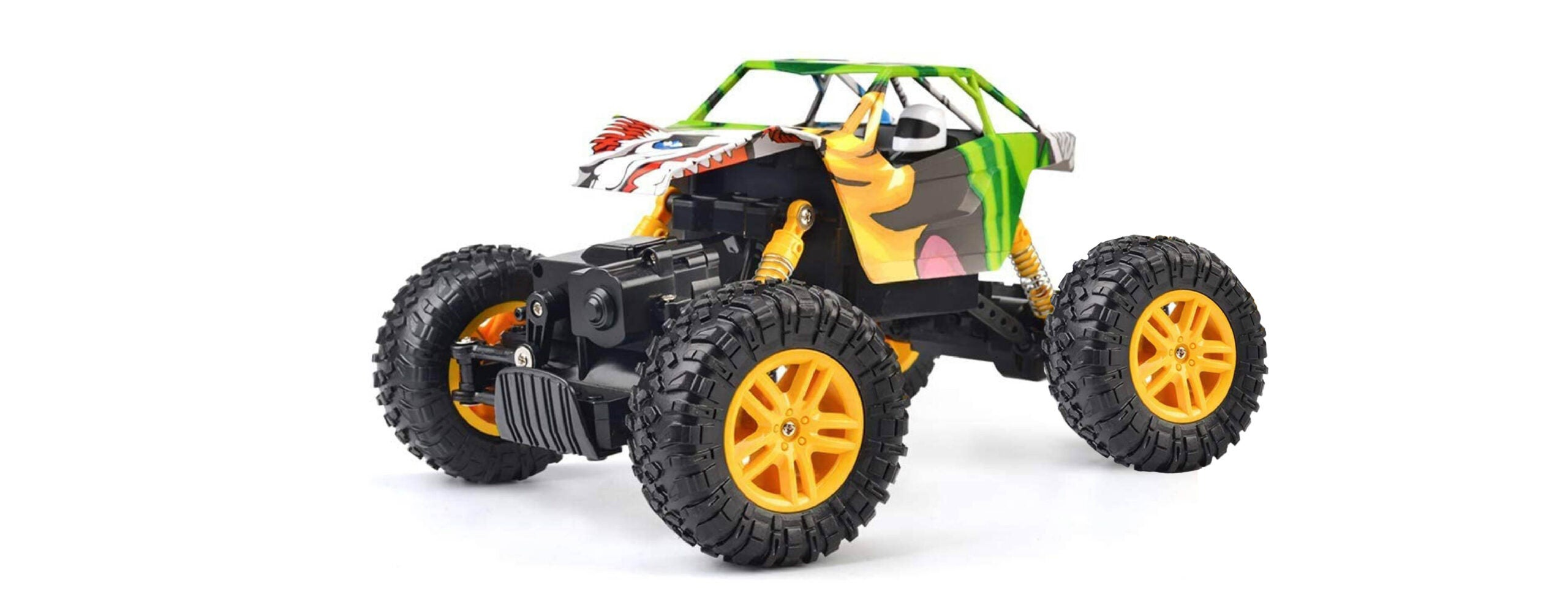 Double E Rechargeable RC Rock Crawler Truck