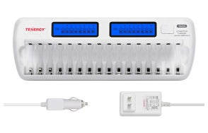 Tenergy 16 Bay AA Battery Charger