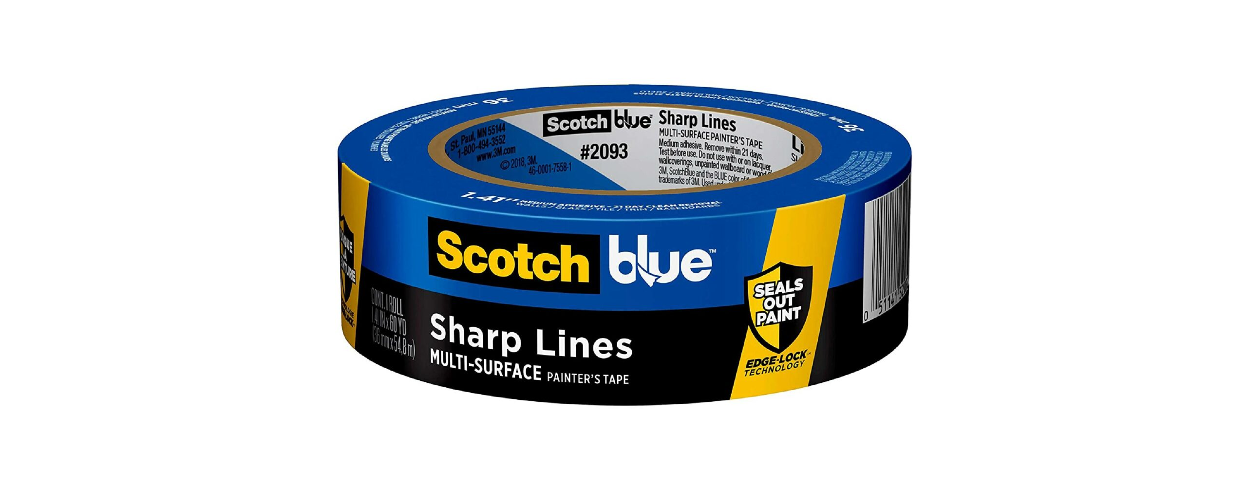 Scotch Thick Painter's Tape for Baseboards