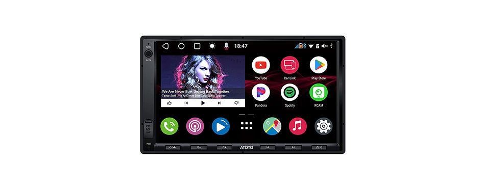 Atoto A6 Double Din Android Head Unit