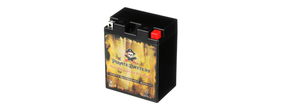 Pirate Battery Riding Lawn Mower Battery