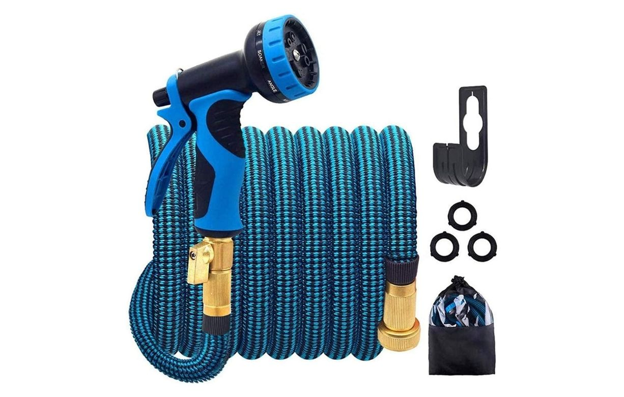 Hulosan Expandable Garden Hose with 9 Function Nozzle