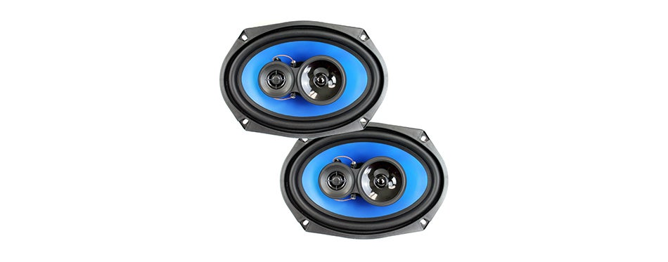 """QPower 6x9"""" 3-Way Car Stereo Coaxial Speakers.jpeg"""