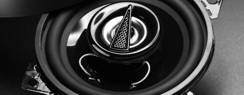 Car Speakers For Bass Close Up