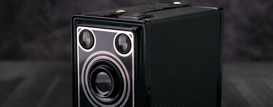 Powered Subwoofer In The Black Background