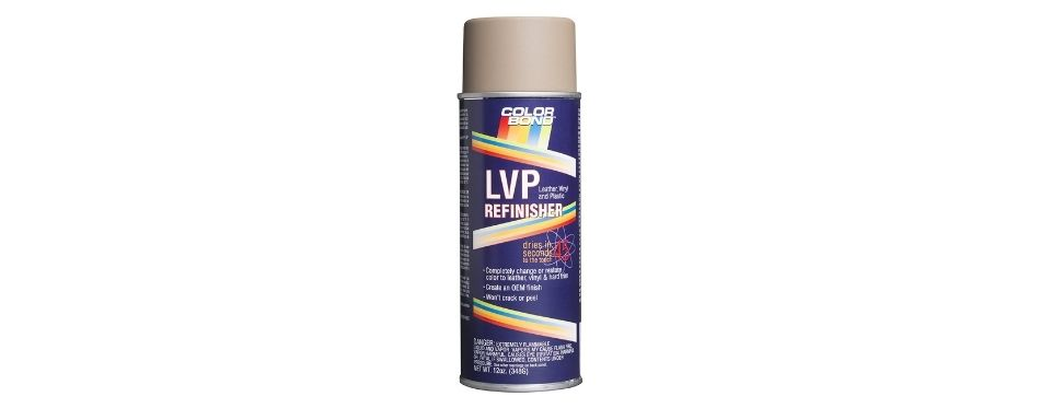 ColorBond LVP Leather, Vinyl, and Hard Plastic Refinisher Spray Paint