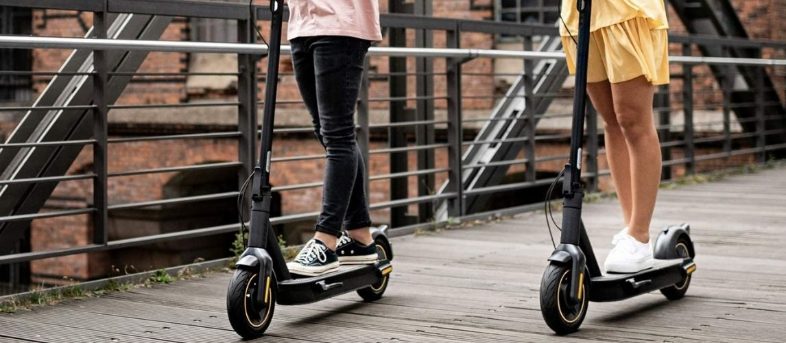 Riding An Electric Scooter For Heavy Adults