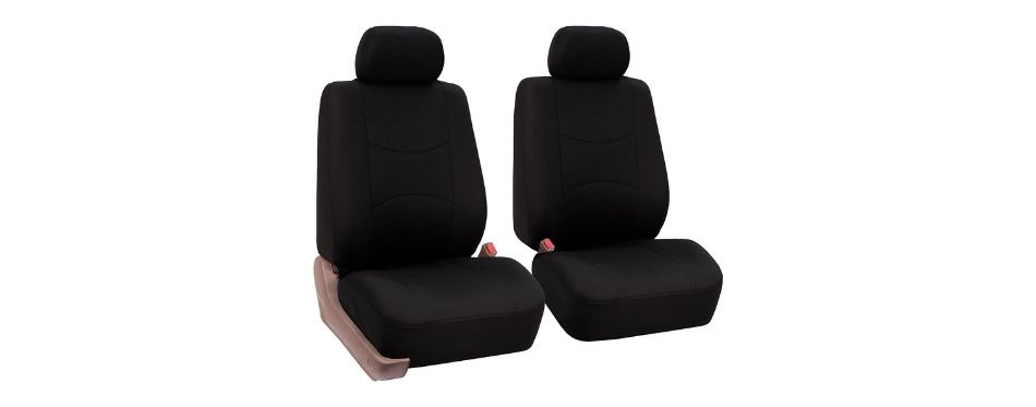FH Group Universal Fit Flat Cloth Bucket Seat Cover